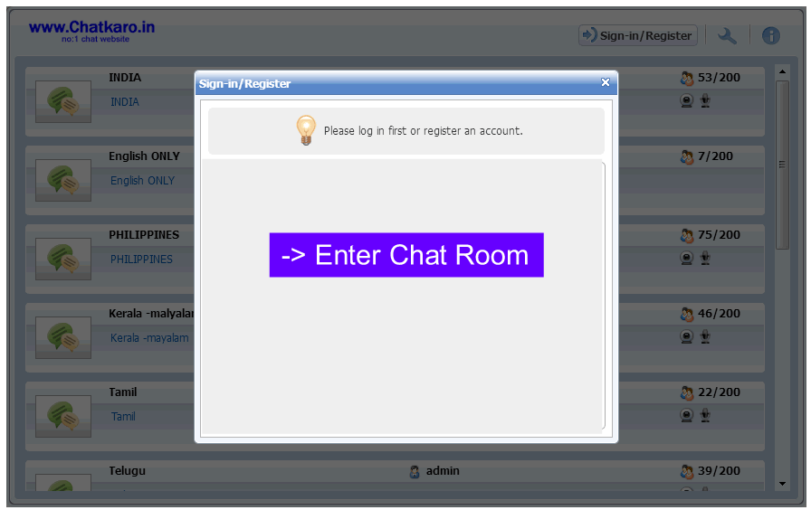 Free chat rooms uae